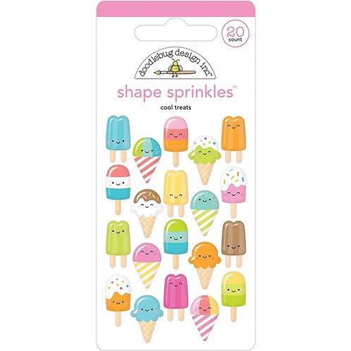 Cool treats shape sprinkles
