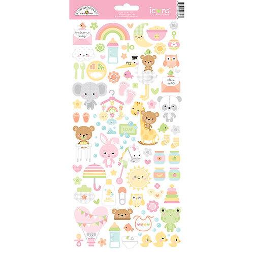 Bundle of joy Cardstock stickers