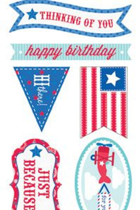 doodle tags star & stripes