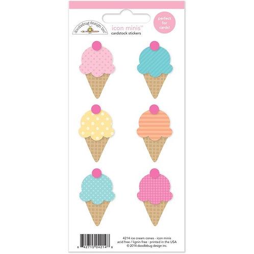 icon minis ice cream cones