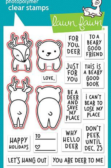 Set de sellos + suajes: For you, deer