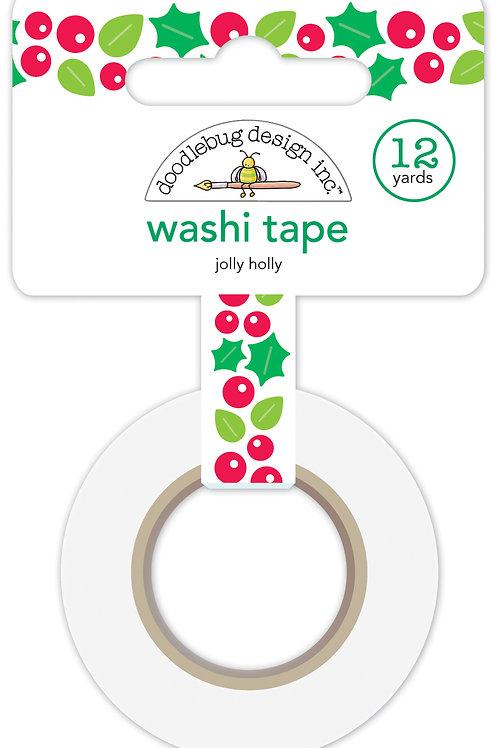 Jolly Holly washi tape