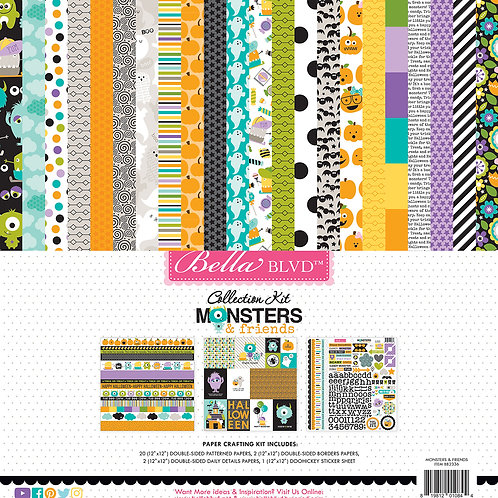 Monsters & friends collection kit