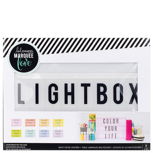 Multi color Lightbox