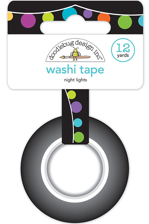 Night lights washtape