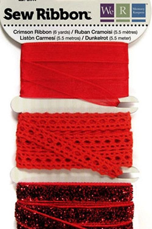 Sew ribbon fancy