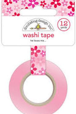 washi tape he loves me