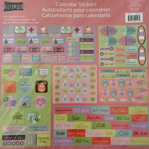 Stickers para calendario