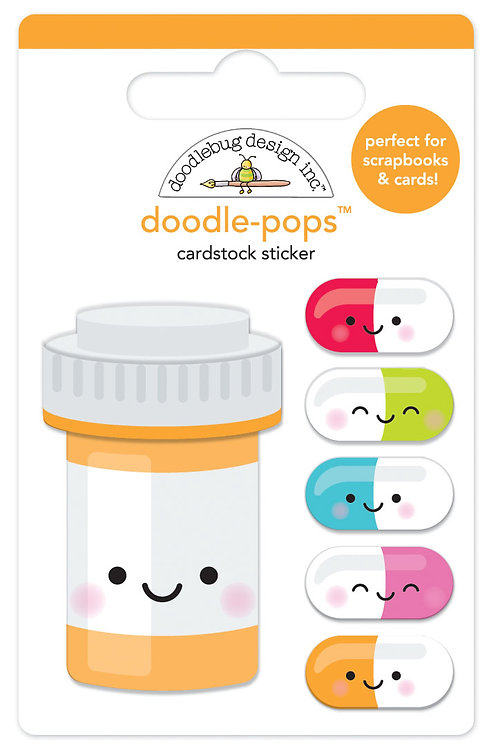 Pill better Doodle-pops