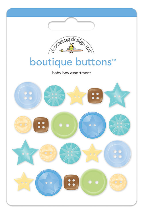 Baby boy boutique buttons