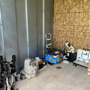 KLEF finds good home for recently donated equipment.