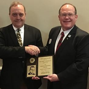 Paducah Lion John Johnson a new Finis Davis Fellowship recipient.