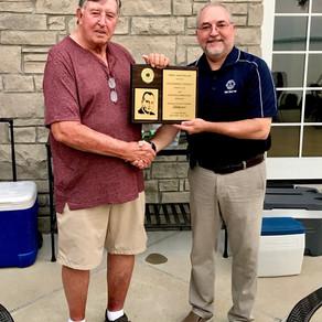 Calvert City Lions Club Honors member Robert Mobley.