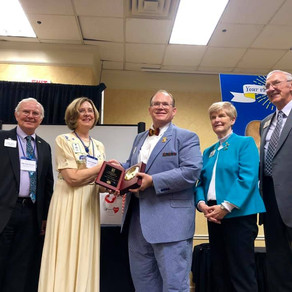 Eight Kentucky Lions Club Members Receive Honors from Kentucky Lions Eye Foundation