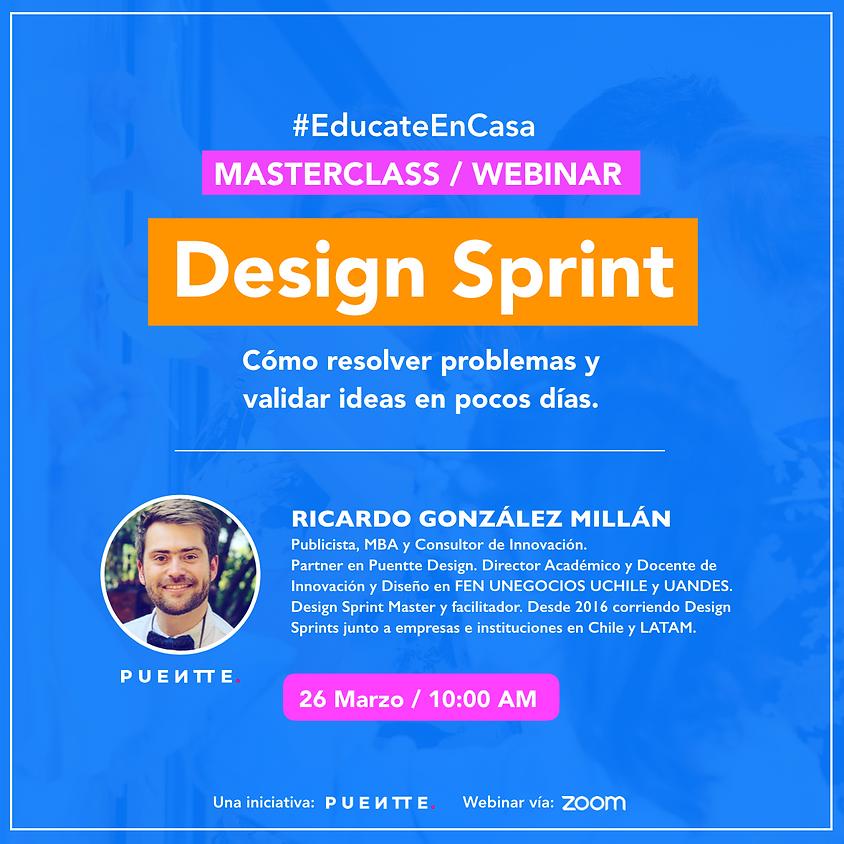 Design Sprint Masterclass + Casos
