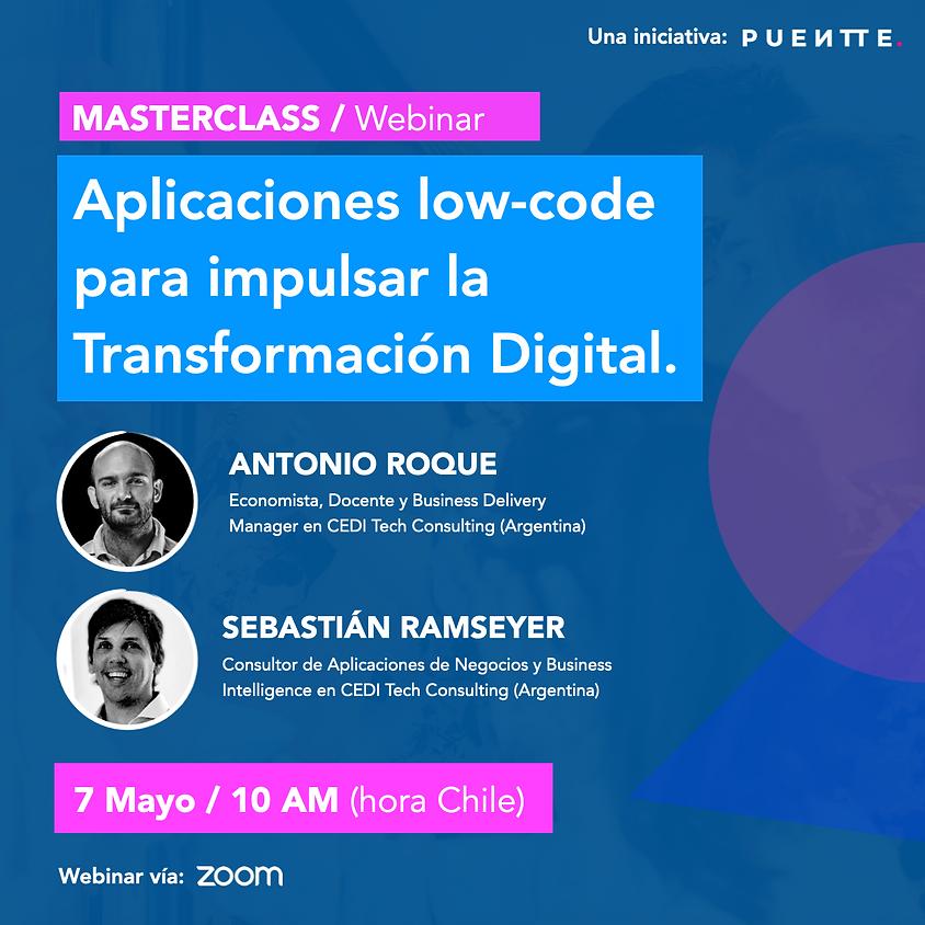 Aplicaciones low-code para impulsar la Transformación Digital.