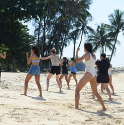 Beach boxing