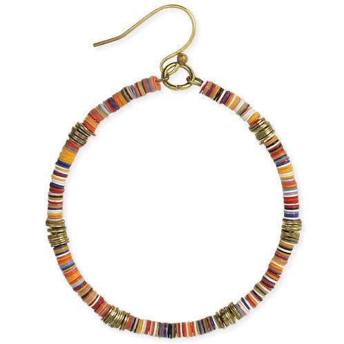 Festival of Color Sequin Earrings