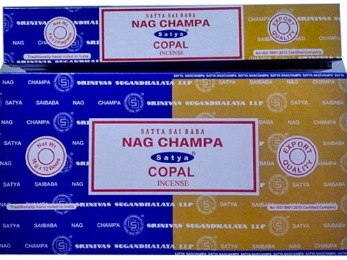 Satya Nag Champa + Copal