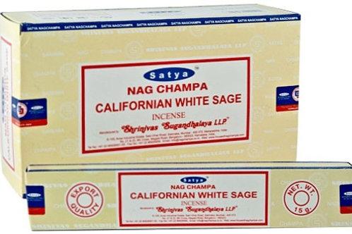 Satya California White Sage Incense