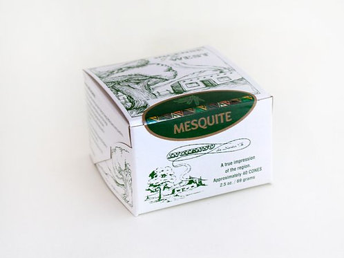 Santa Fe Boxed Mesquite Incense Bricks