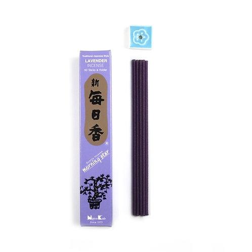 Lavender Japanese Incense Sticks