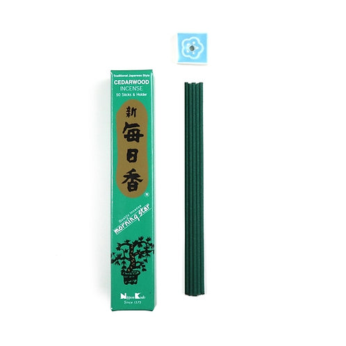 Cedarwood Japanese Incense Sticks
