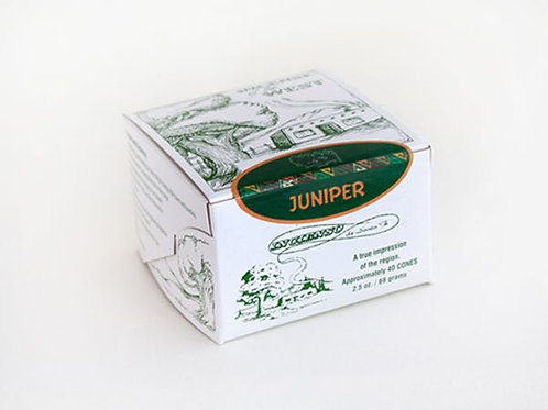 Santa Fe Boxed Juniper Incense Bricks