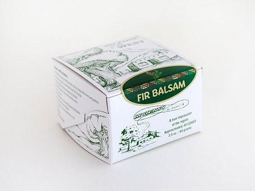 Santa Fe Boxed Fir Balsam Incense Bricks