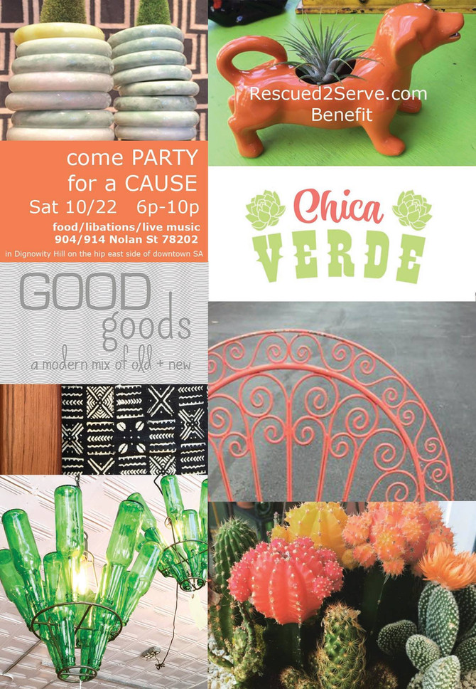 Chica Verde Grand Opening party happens Saturday, October 22nd!
