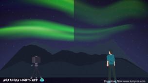 Northern Lights visibility - Eye VS Camera