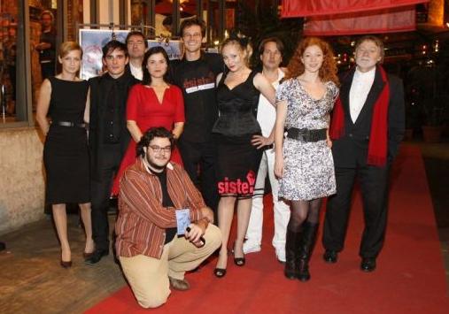 Team AUFSTAND DER PRAKTIKANTEN at Filmfest Hamburg