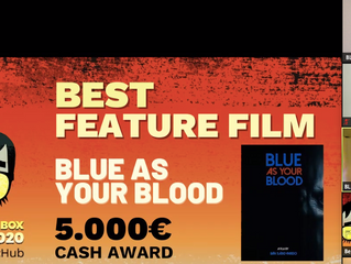BLUE BLOOD wins Sitges Pitchbox