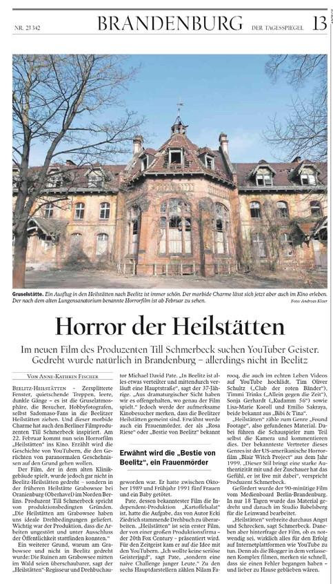 Tagesspiegel Horror