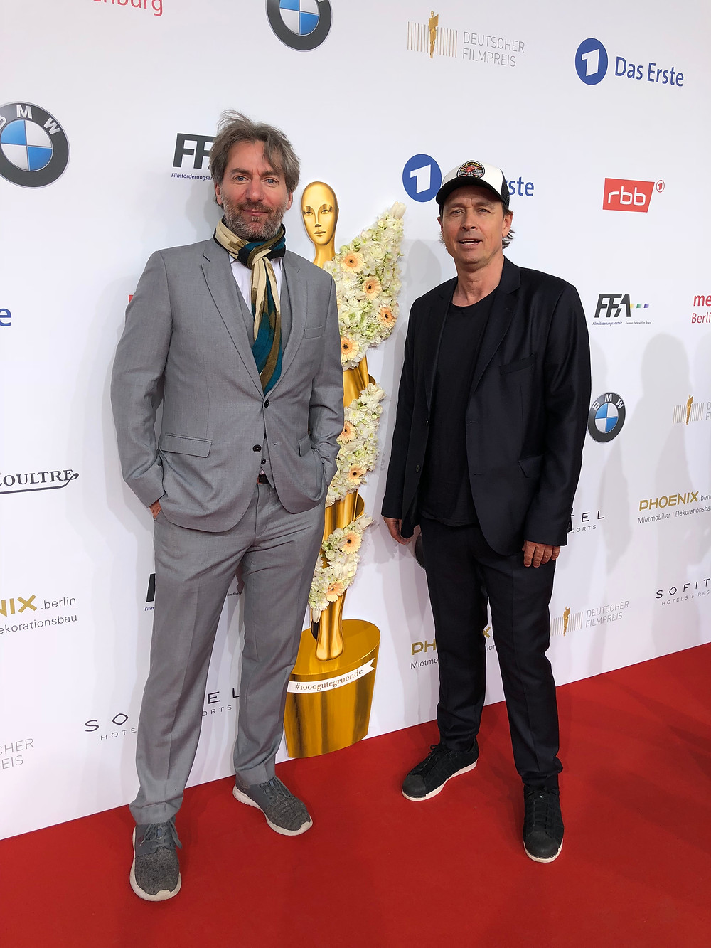 "Till Schmerbeck is guest at ""Deutscher Filmpreis 2018"" with dop Christop Wahl."