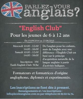 Apprendre l'anglais naturellement... c'est facile!