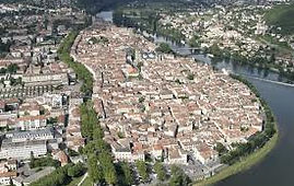 Cahors is the regional capital of the Lot, in SW France