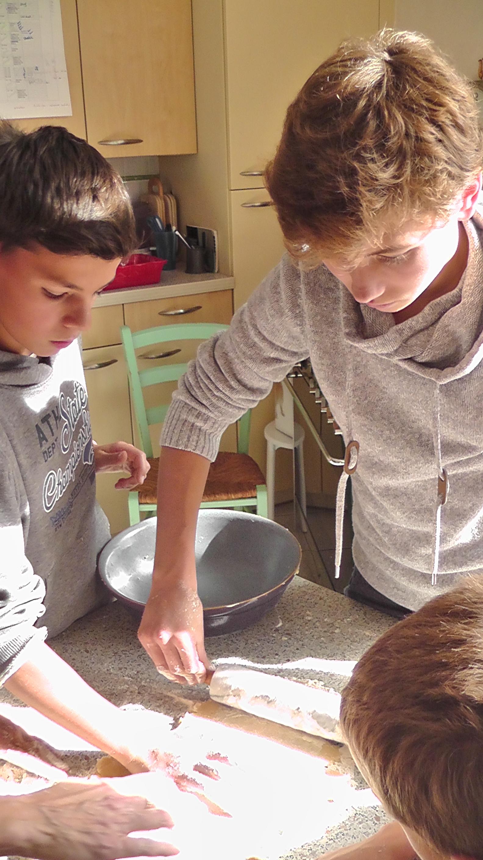 2015 Toussaint English Club Cooking Boys