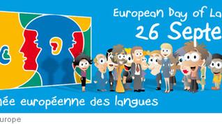 Le 26 Septembre est la journée européene des langues... parlons nous anglais!
