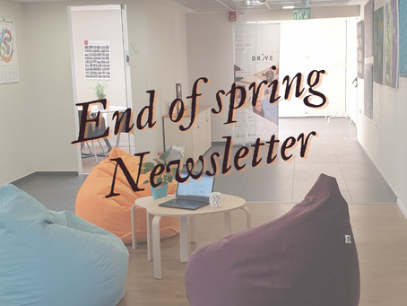 DRIVE End -Of -Spring 2021 Newsletter