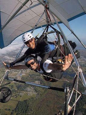 hanggliding tandem flights
