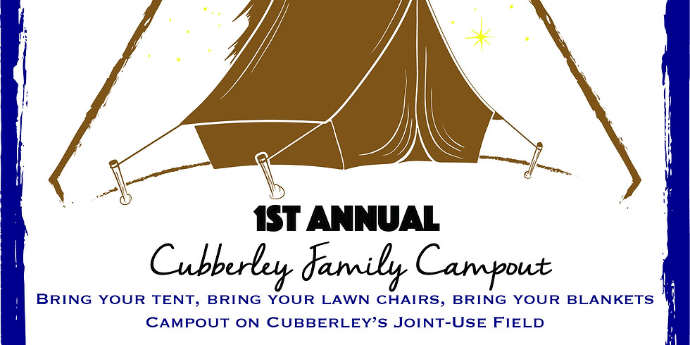 1st Annual Cubberley Family Campout