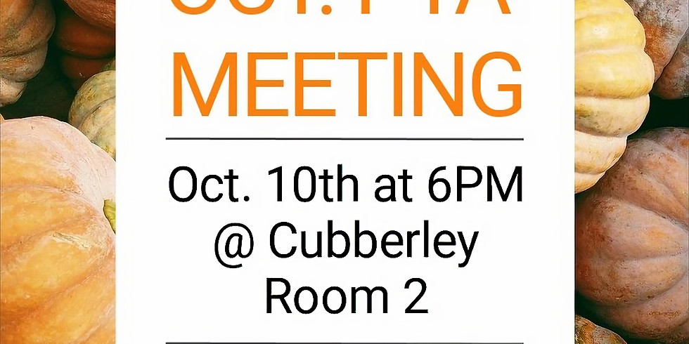 Oct. PTA Meeting