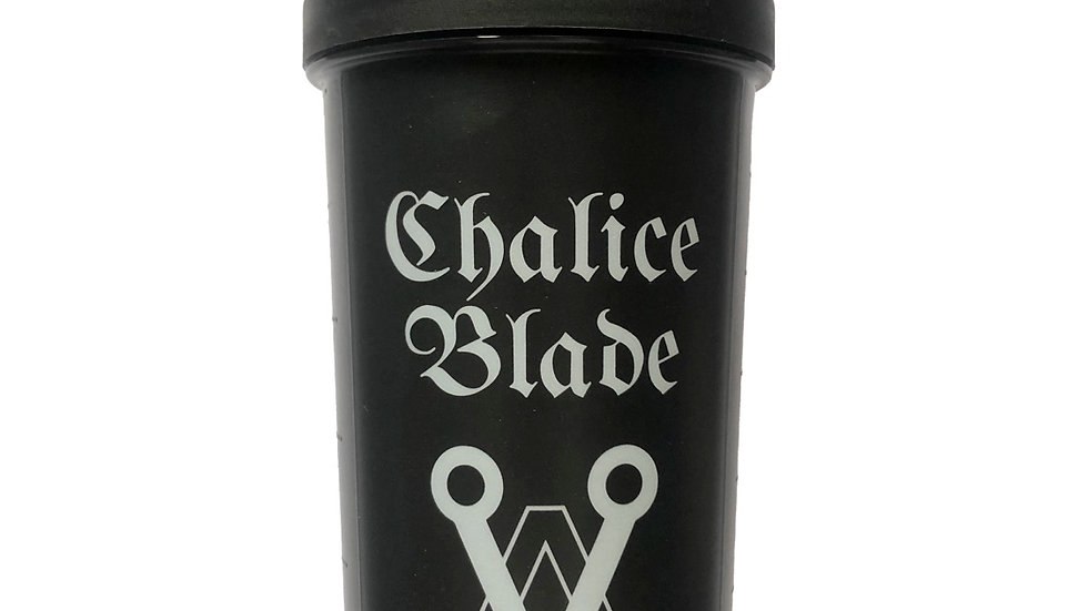 Chalice Blade Black Protein Shaker