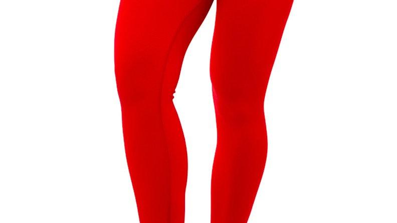 Classic Red seamless leggings