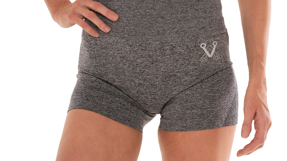Ash Gray seamless shorts
