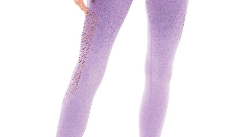 Sovereign Purple Ombré seamless scrunch bottom leggings