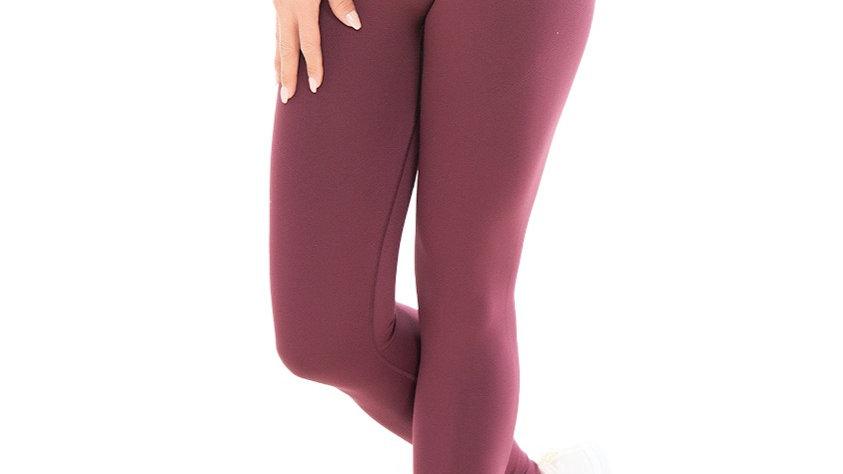 Classic Plum seamless leggings