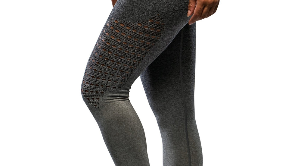 Sovereign Grey Ombré seamless scrunch bottom leggings