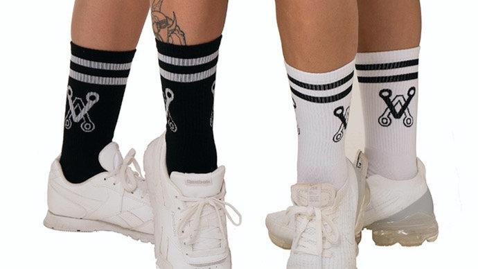 Chalice Blade Logo Socks